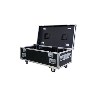 Stage Case Trunk case SC-015 for Powercable /Harting /CEE with PVC film (black) coated without wheels