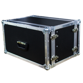 Stage Case Eco Line 19/6HE Rack, suitcasehandle, D/D, birch plywood phenolic brown, 6,5mm