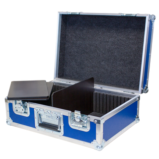 Stage Case Universal Transportkoffer SC-001 (530x380x230mm) blau RAL5010
